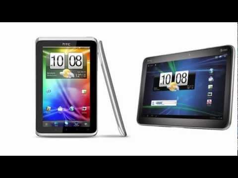 HTC Flyer Wi-Fi versus HTC Jetstream, comparison