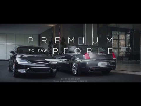 "2016 Chrysler ""Names"" Commercial - Los Angeles, Cerritos, Downey, Huntington Beach CA - 200 & 300 SALE"