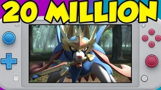 Pokemon Sword and Shield Will Get 20 MILLION Sales Because Of The Nintendo Switch Lite by Verlisify