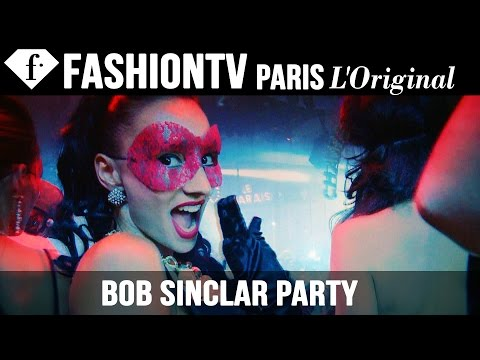 Fashion TV - http://www.FashionTV.com/videos IBIZA - The night is heating up with top DJ Bob Sinclar and FashionTV! Don't miss the party in Ibiza. Appearances: Bob Sinclar For franchising opportunities...