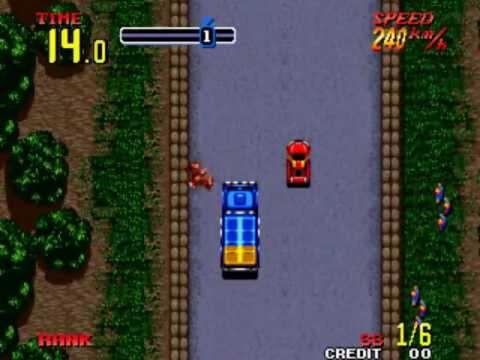 Thrash Rally Neo Geo