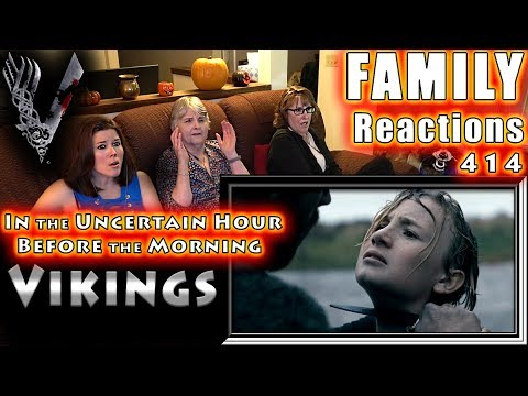 VIKINGS | 414 | In The Uncertain Hour Before The Morning | FAMILY Reactions | Fair Use