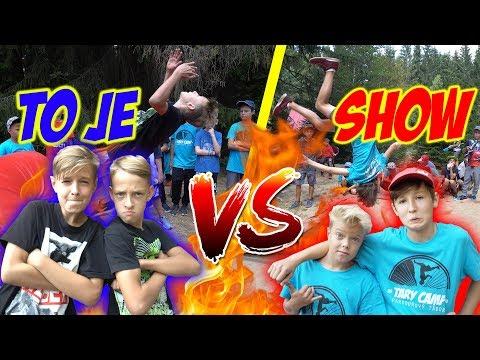 Dětský Parkour Horse Challenge #5 | Max a Ondra vs. Vojta a Adam_Legjobb videók: Extrém
