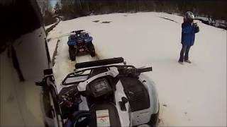 10. 2018 Brute Force 750 ATV FUN