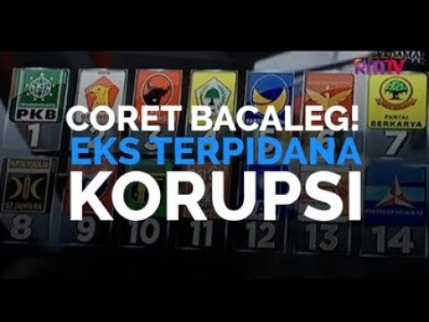 Coret Bacaleg Eks Terpidana Korupsi!
