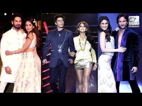 Bollywood Jodi's That Set The Ramp On Fire | Saif