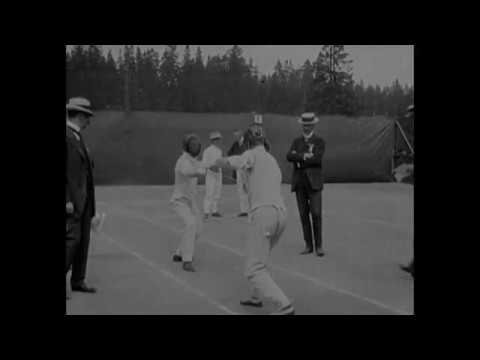 1912 - Fencing Competition Olympics - Stockholm Sweden