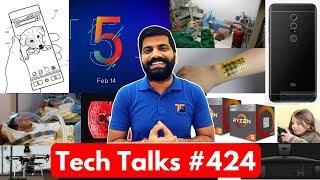 Tech Talks #424 - Redmi Note 5 Pro, Electronic Skin, iMac Pro India, Drone Mapping, CyberCrime Lab