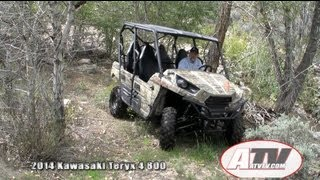 8. ATV Television - 2014 Kawasaki Teryx 4 Initial Test