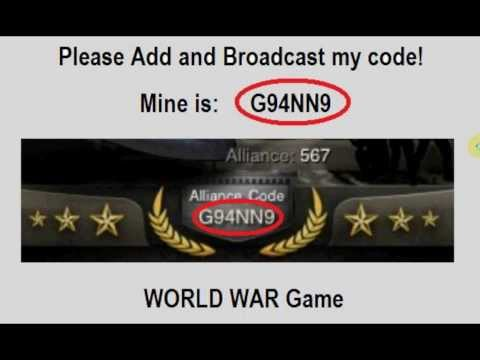 war game alliance codes get game codes for war game ...