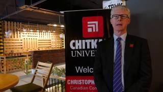 Mr. Christopher Gibbins - Canadian Consul General, Chandigarh at Chitkara University