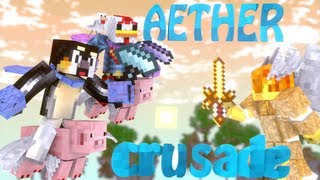 Minecraft: Aether Crusade Server&Modpack - Aether 2!