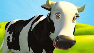 Mrs Cow - The Farm Song for Kids, Children's Music full download video download mp3 download music download