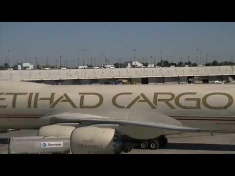 ETIHAD CARGO. BOEING. 747-8F. MIAMI.