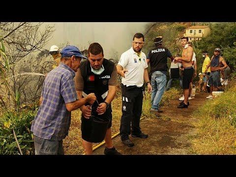 Πορτογαλία: Πάνω από εκατό τα πύρινα μέτωπα