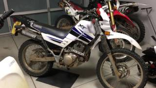 3. Yamaha XT225, a great first dual sport motorcycle!