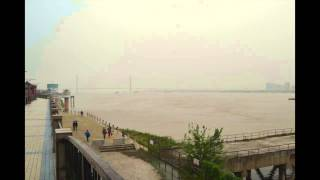 Anqing China  city photos gallery : Yangtze River time lapse, Anqing, China