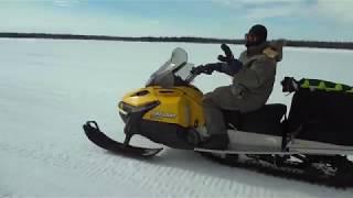 10. Снегоход Ski-Doo Tundra WT 550F против BRP SKANDIC SWT 600 ACE.