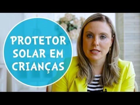 Proteção solar na infância