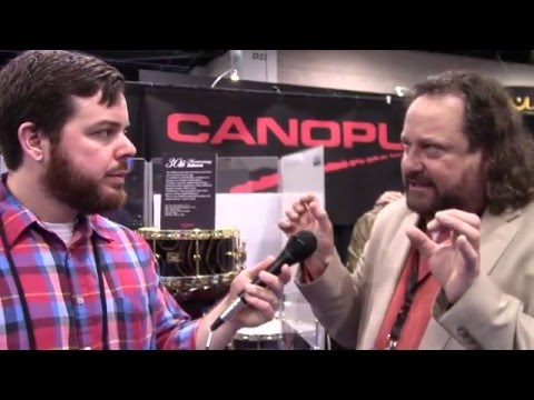 Winter NAMM 2016: Canopus Drums