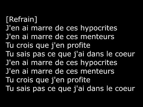 DALYMOTION - J'en ai marre (Lyrics)