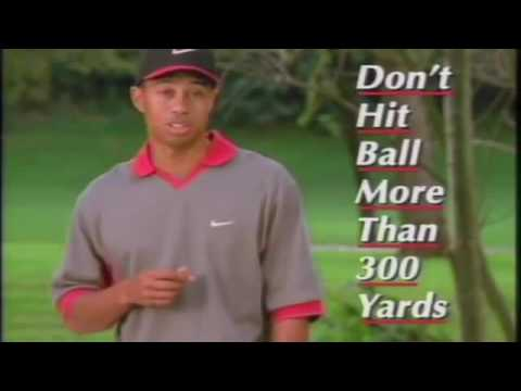 Golf's Not Hard with Tiger Woods Collection (Nike Shoe Commercials)