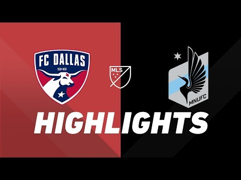 Video: FC Dallas vs. Minnesota United FC | HIGHLIGHTS - August 10, 2019