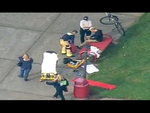 raw - RAW VIDEO -- Shooting at Marysville Pilchuck High School - Shooter two dead killed in Washington 2 Student Injured MPHS MP Shooting at Marysville Pilchuck High School - Shooter in Washington...
