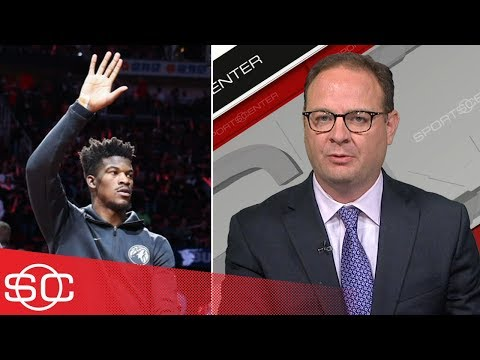 Adrian Wojnarowski on Jimmy Butler's trade request out of Minnesota  | SportsCenter | ESPN (видео)