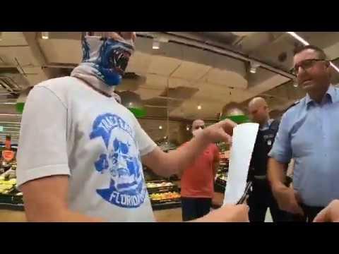 Streit wegen Masken eskaliert