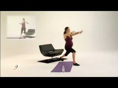 Pregnancy Exercise for PregoFIT Workouts Month 6; Clip 2