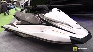 6. 2015 Yamaha VX Cruiser WaveRunner Jet Ski - Walkaround - 2015 Montreal Boat Show