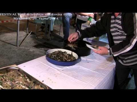 Festival ribe & Srednja strukovna škola, Makarska 26.9.2014.