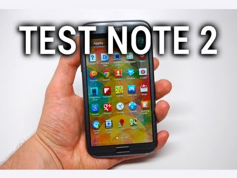 Test du Samsung Galaxy Note 2 – par Test-Mobile.fr