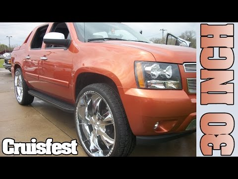 Chevy Avalanche on 30 inch rims Cruisefest 2011: Music by Nate C Produtions!