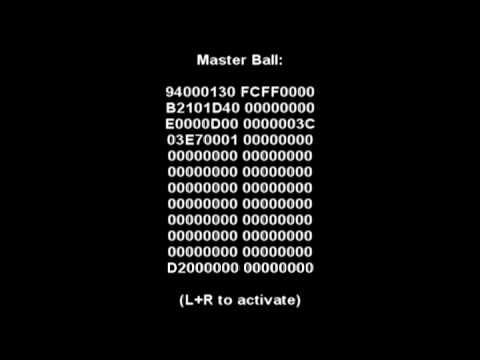 Pokemon platinum cheats 2 teams idea pokemon platinum ar code 999x master ball and other codes aloadofball Gallery