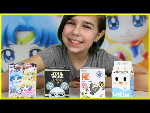 Tokidoki prize - Surprise Blind Box Opening - Sailor Moon, Tokidoki Moofia, Star Wars Vinylmation and Funko Mystery Minis Despicable ME. Thank you for watching! XY Adventurez: http://bit.ly/1ztfuPg RadioJH...