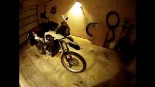 8. 2012 BMW G650GS Sertao adventure motorcycle review - 10 months later