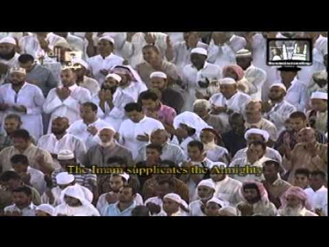 صلاة الوتر مع الدعاء الليلة الأولي تراويح رمضان 1432هـ -عبد الرحمن السديس