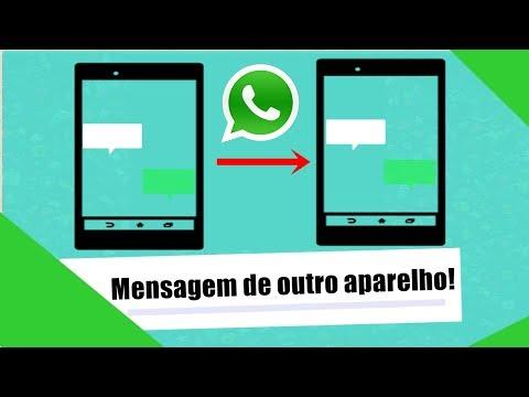 Como recuperar mensagens do WhatsApp de outro telefone