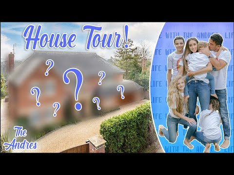 PETER ANDRES FIRST EVER HOUSE TOUR! (UNSEEN FOOTAGE!)