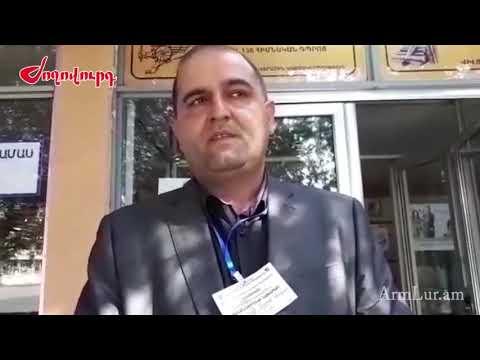 Միջադեպ դիտորդի և ԲՀԿ վստահված անձի միջև - DomaVideo.Ru