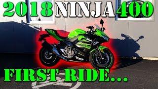 8. 2018 Ninja 400 KRT - First Impressions