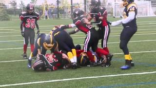 Week 4 - Pee Wee Warriors 56 vs Myers Riders 0