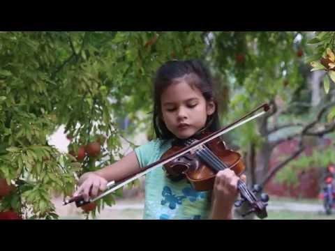 Come Follow Me - Amira on Violin (видео)