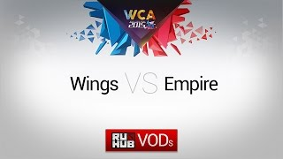 Empire vs Wings, game 1