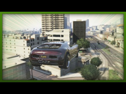 GTA 5 Funny Moments – Crazy Adder Stunt! – (GTA V Stunts & Fails)