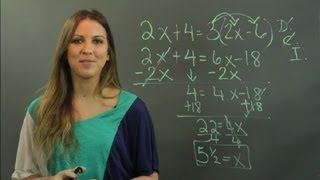 How to Solve Multi-Step Linear Equations : Linear Algebra Education