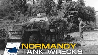 Video #2 D-Day Normandy Destroyed German and Allied tanks and vehicles footage. MP3, 3GP, MP4, WEBM, AVI, FLV Agustus 2019
