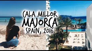 Cala Millor Spain  City pictures : TRAVEL VLOG: 3 DAYS IN MAJORCA 2016 | SPAIN, CALA MILLOR [ ZAPOWIEDŹ VLOGÓW ]